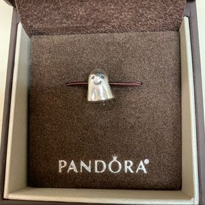 Retired authentic Pandora ghost charm
